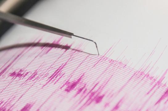 В приграничной зоне Армения-Грузия произошло землетрясение магнитудой 3.1