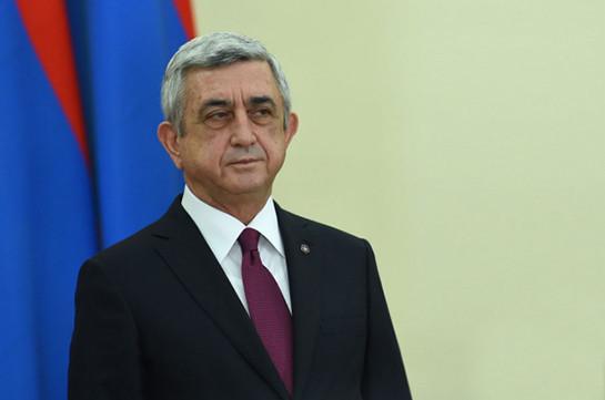 Серж Саргсян отбыл с официальным визитом в Катар