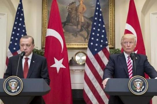 Эрдоган: Турция никогда не признает союз США с курдами