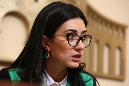 Арпине Ованнисян: В Армении зарегистрирован резкий рост преступности