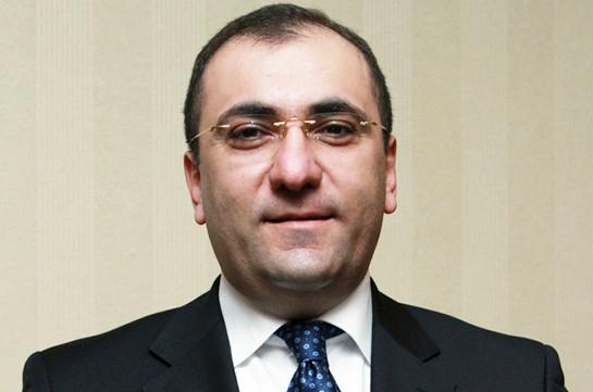 Արա Սաղաթելյանը պաշտոնապես նշանակվեց ԱԺ աշխատակազմի ղեկավար-գլխավոր քարտուղար