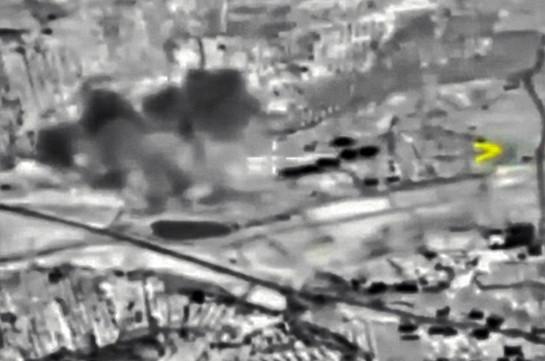 Российская авиация уничтожила 80 боевиков ИГ, пытавшихся покинуть Ракку