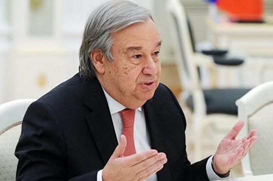Генеральный секретарь ООН планирует увидеться сПутиным иЛавровым врамках ПМЭФ