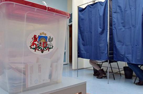 В Латвии начались выборы в местные органы власти
