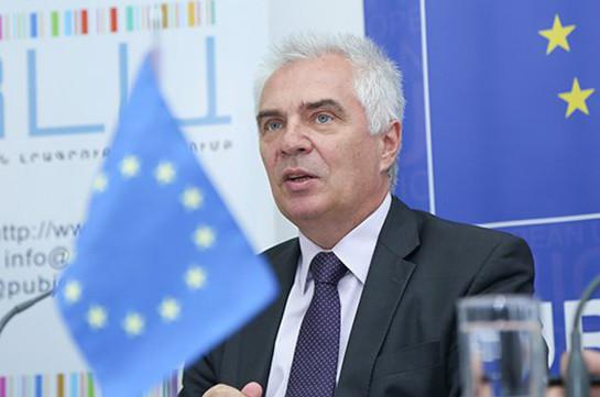 Свитальский: Угрозы суверенности Армении – не в дружеской поддержке ЕС, а где-то в другом месте