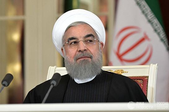 Президент Ирана направил эмиру Катара послание