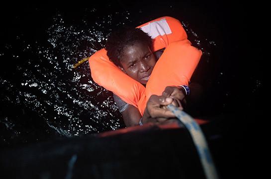 В Средиземном море пропало без вести более 120 мигрантов