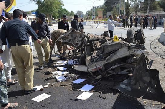 Взрыв в пакистанском городе Кветта: 15 погибших