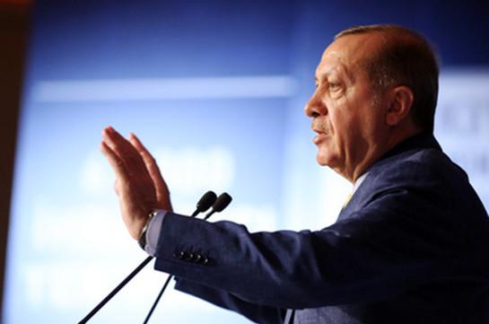 Эрдоган неисключил новейшей военной операции Турции вСирии