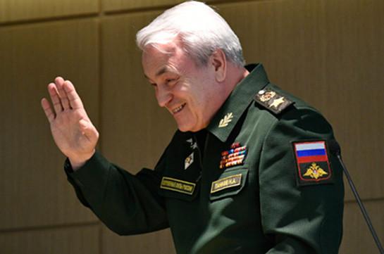 Замминистра обороны РФ: Объединенная группировка сил РФ и Армении в мирное время подчиняется Генштабу Армении