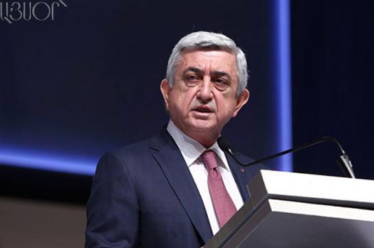 Հայաստանում ներդրումների ավելացման հնարավորություններ կան. Սերժ Սարգսյան