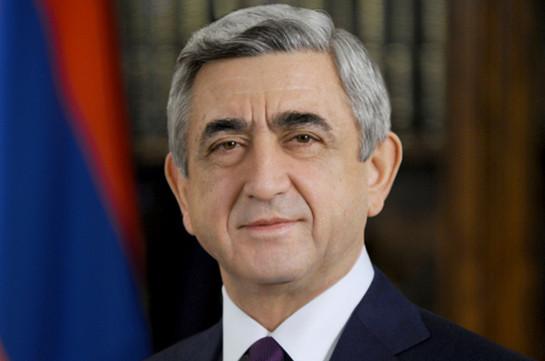 Серж Саргсян примет участие в церемонии инаугурации президента Ирана