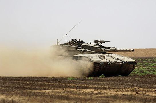 Израиль обстрелял позиции боевиков ХАМАС в секторе Газа