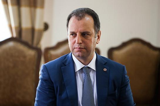 Виген Саркисян избран председателем Совета попечителей Фонда «Военно-спортивный колледж имени Монте Мелконяна»