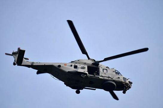 ВБельгии ищут пилота, который выпал извоенного вертолета