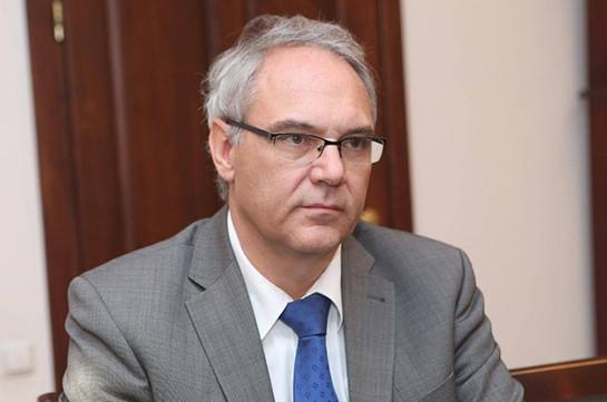 Посол Германии: ЕС предлагает, но не навязывает свое сотрудничество с Арменией