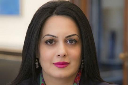 Эстер Мкртумян назначена послом Армении в Уругвае, Чили и Перу