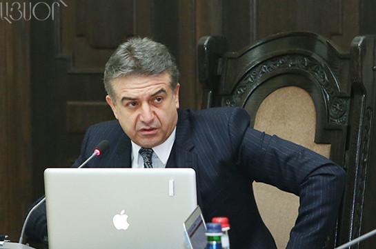 За год деятельности Карена Карапетяна налоговые сборы увеличились на 6.5 процентов