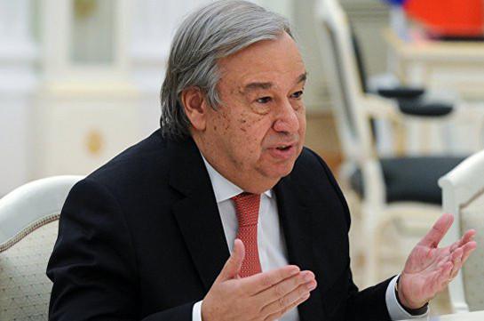ՄԱԿ գլխավոր քարտուղարը պատրաստ է ԿԺԴՀ-ի շուրջ ծավալված իրադրության կարգավորման հարցում միջնորդ դառնալ