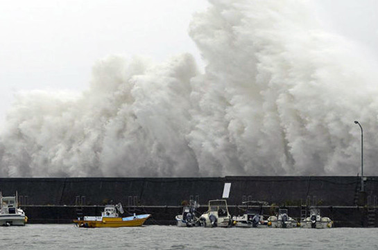 Тайфун «Талим» взял курс наПриморье иХабаровский край
