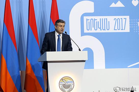 Վարչապետը տեղյակ չէ, թե ինչու է «Ելքը» բացակա «Հայաստան-Սփյուռք» համաժողովին