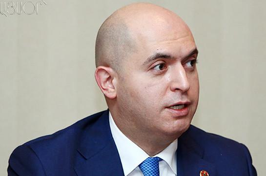 Армен Ашотян призывает Диаспору держать в центре внимания вопрос Нагорного Карабаха