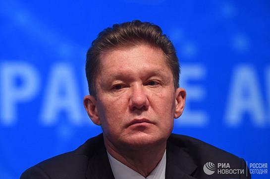 Доконца года Газпром побьет рекорд попоставкам газа вТурцию: Миллер