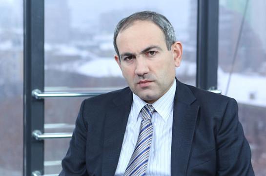 «Жаманак»: Никол Пашинян отказался встречаться с членами фронта «Во имя государства Армения»