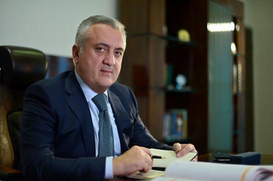 Глава Центробанка Армении в Вашингтоне примет участие в мероприятиях МВФ и ВБ