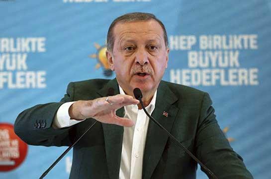 Эрдоган заявил о возможности закрытия границы с Ираком в любой момент