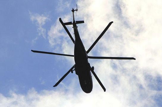 ВЯпонии при крушении грузового вертолета погибли 4 человека