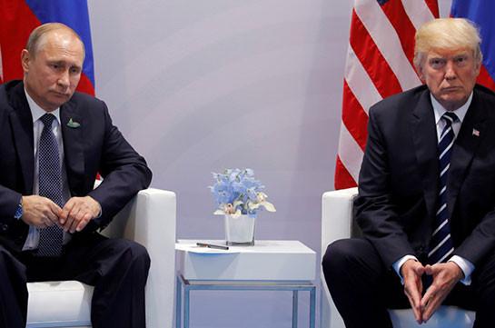 Лавров: «Трамп хотел увидеться сПутиным»