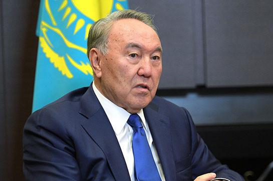 Назарбаев рассказал о снижении неблагоприятной мировой конъюнктуры благодаря ЕврАзЭС
