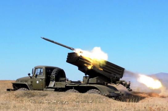 Интенсивность боевой подготовки артиллерийских подразделений ЮВО в Армении выросла на 15%