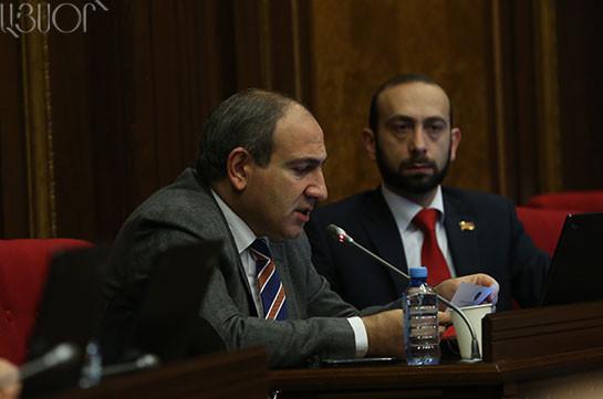 Никол Пашинян: Виген Саркисян – не политический деятель