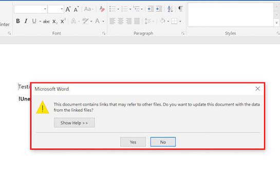 Նոր վիրուսը համակարգիչները վարակում է Word-ի միջոցով