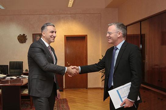 Ասիական զարգացման բանկը հետաքրքրված է բազմակողմանի օժանդակություն ցուցաբերել Հայաստանին գյուղատնտեսությանը