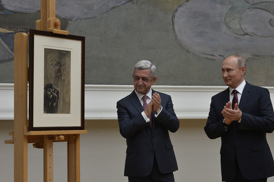 Պուտինը Սարգսյանին է հանձնել 22 տարի առաջ Երևանում գողացված Միխայիլ Վրուբելի հայտնի կտավը