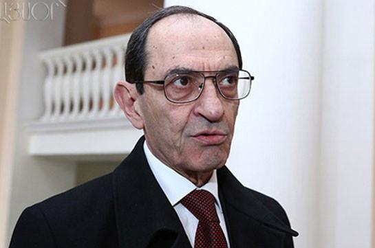 Шаварш Кочарян: Посредники по Карабаху проявляют определенную активность