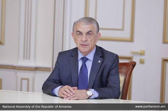 Спикер парламента Армении посетит Москву