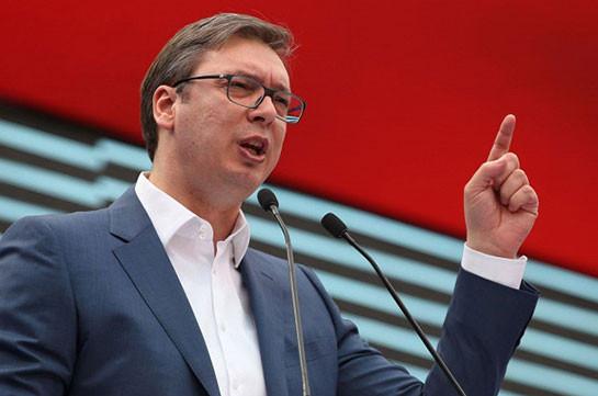 Вучич: Брюссель требует от Сербии обязывающих документов по Косово для вступления в ЕС