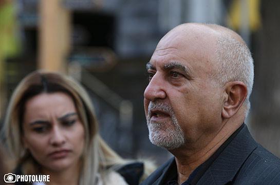 Айрикян начал голодовку против «антиконституционных действий» ЦИК