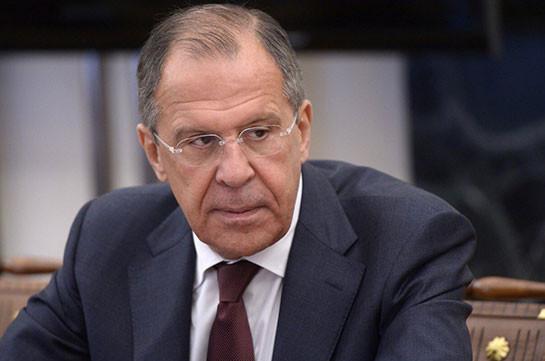 Лавров передал президенту Армении привет от Путина