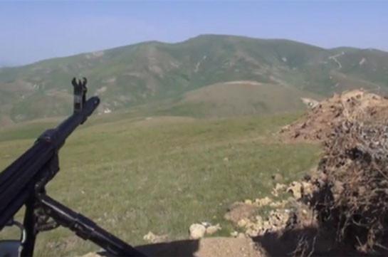 Азербайджанский офицер убил всех находящихся на боевом посту сослуживцев и сбежал