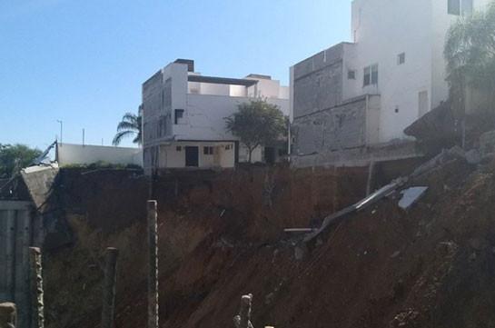 4 жилых дома вМексике повалились вкотлован стройки