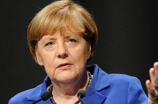 Ангела Меркель: В Азербайджане и Армении Россия играет центральную роль