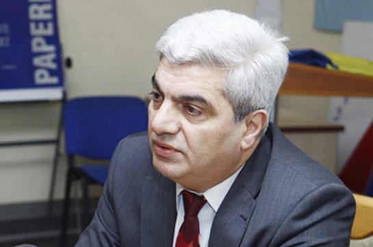 Задержан политолог Степан Григорян