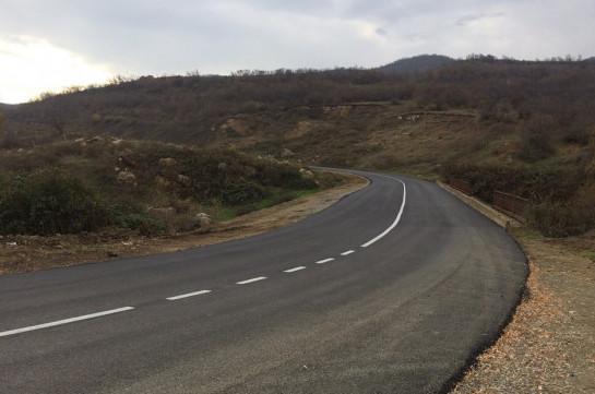 Тигран Абрамян: Дорога Степанакерт – Гадрут отремонтирована