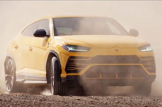 Lamborghini ներկայացրել է ամենաարագ արտաճանապարհային ավտոմեքենան (Տեսանյութեր)