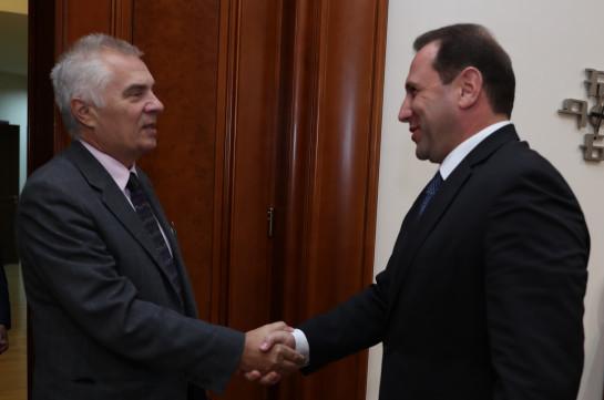 Խորանում է Հայաստանի և Եվրամիության համագործակցությունը արտակարգ իրավիճակների ոլորտում